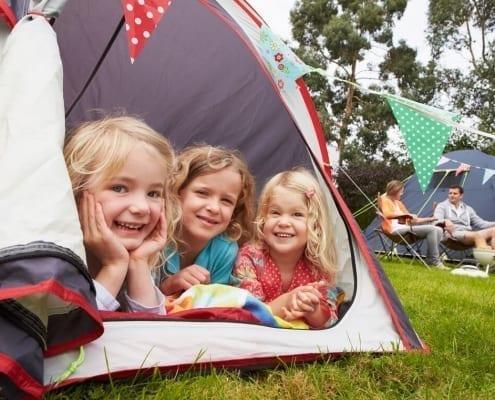 consigli campeggio in tenda