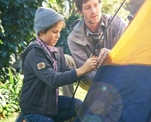 5 suggerimenti per fare campeggio con i bambini