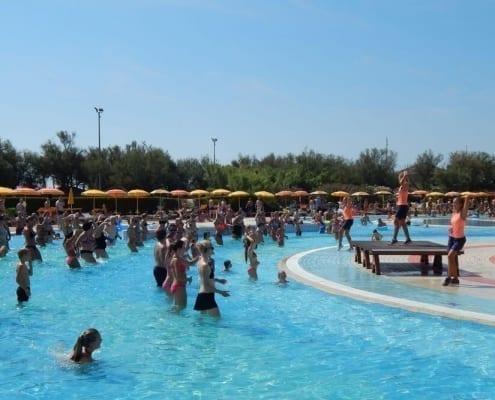 Giochi all'aperto per ragazzi prezzo il campeggio di caorle del Centro Vacanze Pra' delle Torri