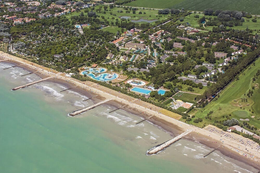 caorle camping by the sea