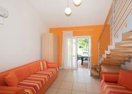 huiskamer Bungalow De Luxe