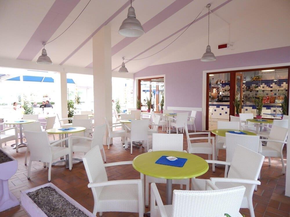 area esterna ristorante