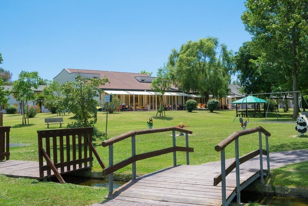 giardino dei bungalow
