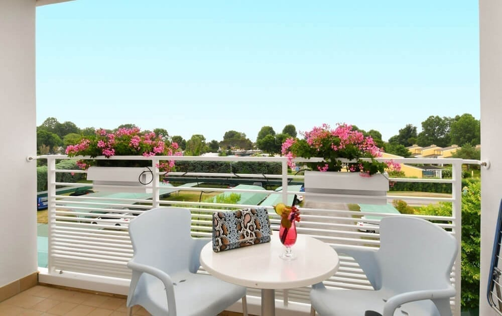 terrazza camera hotel