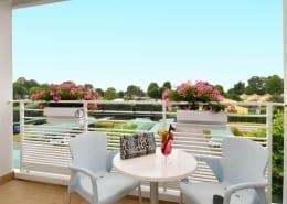 3 star hotel terrace