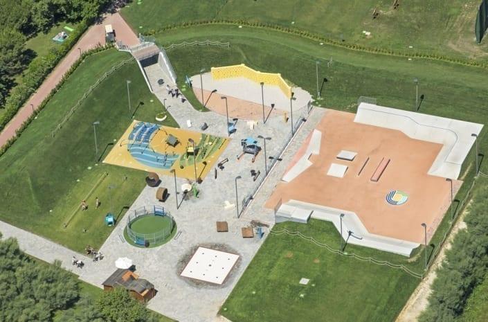 sportterrein skatepark caorle