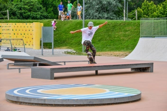 parco skateboard