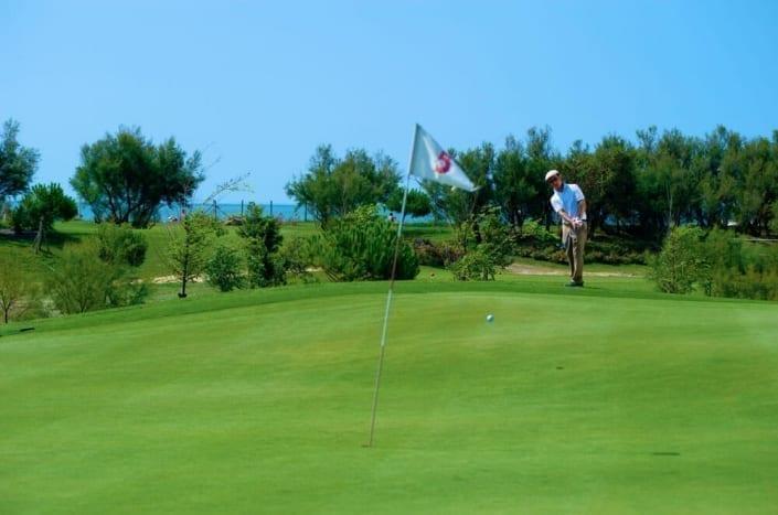 giocatore golf