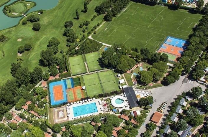impianti sportivi del centro vacanze