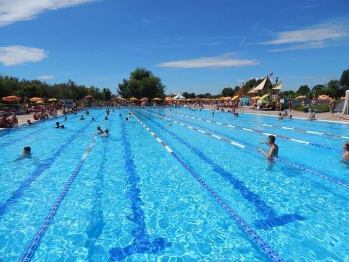 piscine chauffée olympique