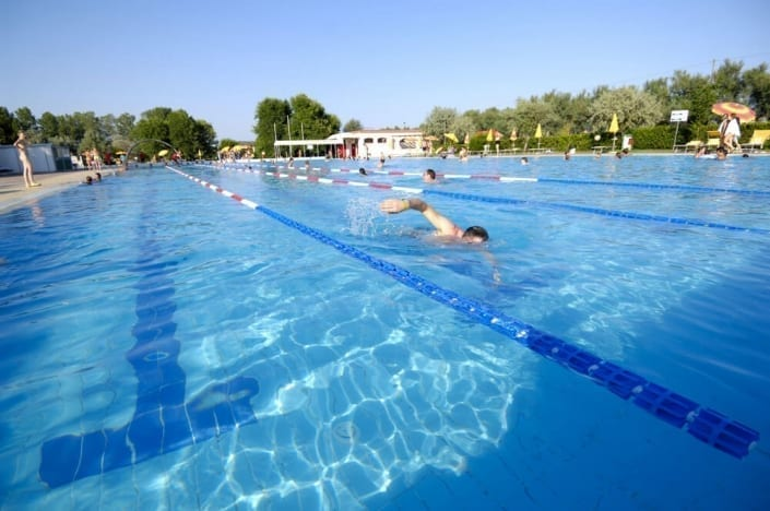 Piscine olympique de natation
